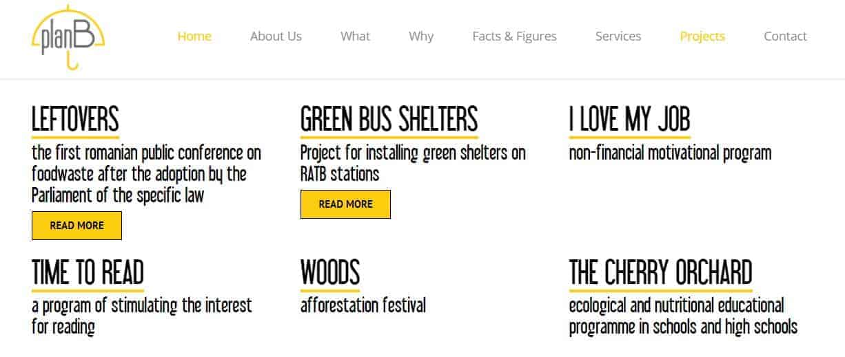 site activitate Asociatia pentru Responsabilitate Sociala Plan B
