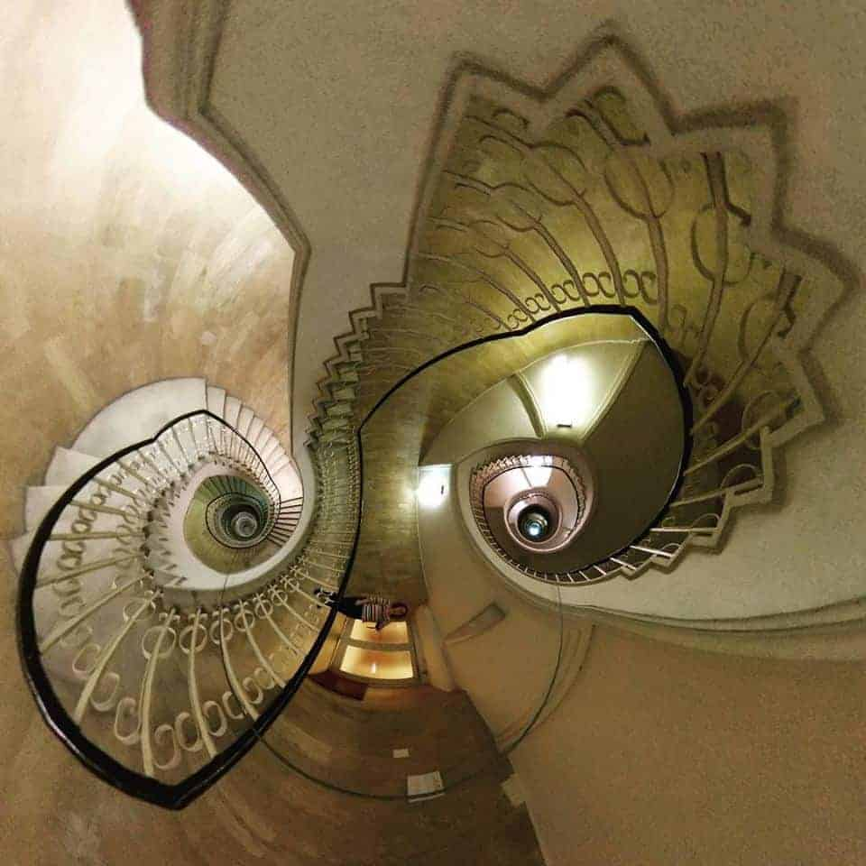 tiny planet stairs