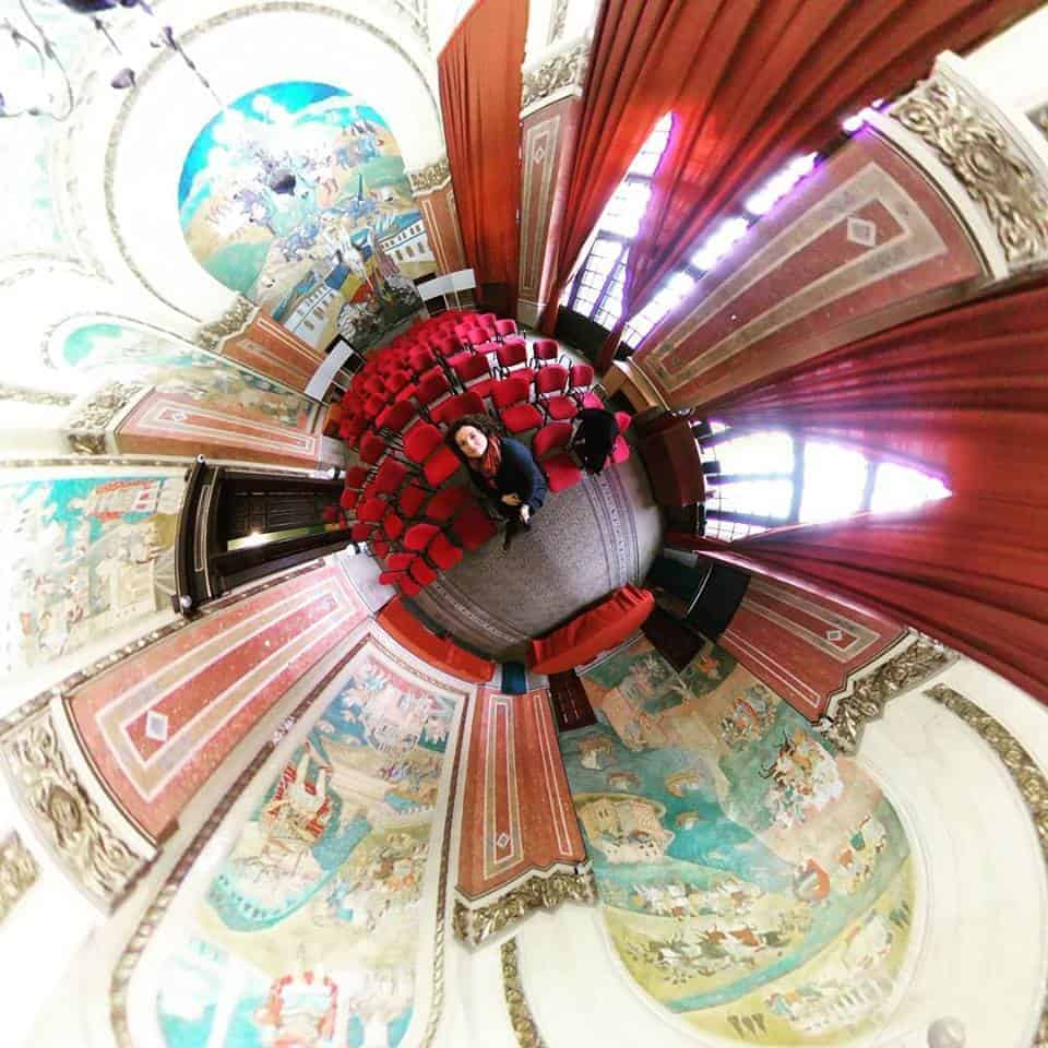 imagine tiny planet Constanta