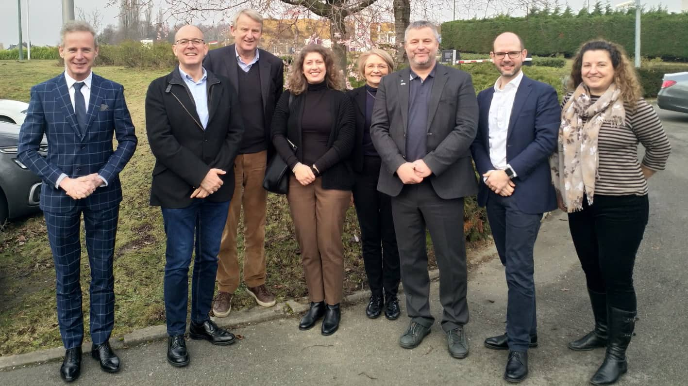 as liaison officer for IFLA Europe at a strategic meeting of green sector European organisations (photo: ELCA)