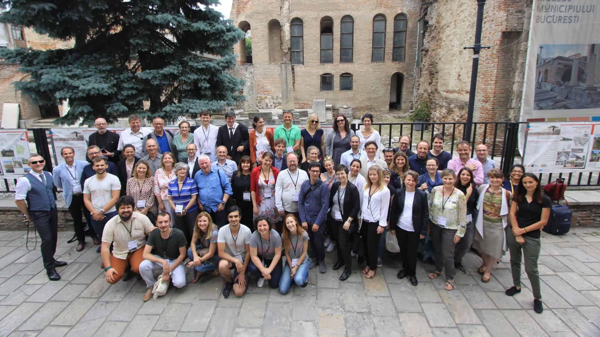with IFLA Europe Bucharest 2017 group